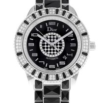 Dior CD115511M001Christal Steel And Diamonds Automatic Unisex