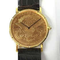 Corum Twenty Dollar Coin 1904 Automatic 35mm  18k Yellow Gold