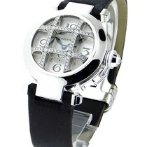 Cartier WJ11932G 32mm White Gold Pasha with Diamond Grid -...