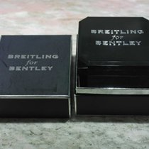 Breitling vintage black bakelite watch box for bentley models ...