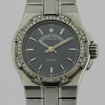 Vacheron Constantin Overseas Bezel Diamonds Quartz Lady 702223