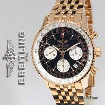 브라이틀링 (Breitling) Navitimer Chronograph 18k Rose Gold Limited...