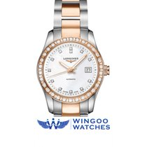 Longines Conquest Classic Lady diamond Ref. L22855887/L2.285.5...