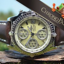 百年靈 (Breitling) 18kt Weißgold Chronomat von 2012, MOP,...