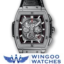 Hublot SPIRIT OF BIG BANG TITANIUM DIAMONDS Ref. 601.NX.0173.L...