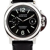 パネライ (Panerai) Luminor Marina Automatic Black Dial Men Swiss...