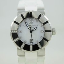 Chaumet Class One Steel case White Dial with Diamonds