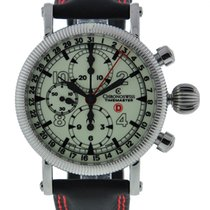 Chronoswiss Timewalker Gmt Stainless Steel Luminous Dial On...