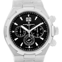 Vacheron Constantin Overseas Chronograph Black Dial Watch 49150