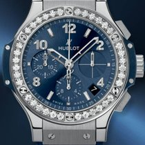 Hublot DIAMONDS BLUE STEEL  BIG BANG 341SX7170LR1204