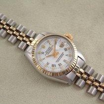 Rolex Lady Datejust Stahl - Gold  26 mm weiss römisch