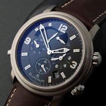 Blancpain LÉMAN RÉVEIL GMT BLACK DIAL 2041123063B