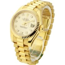 Rolex Used 179178 Ladys President - Yellow Gold - circa 2003 -...
