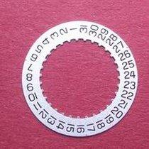 ETA Datumsscheibe, Kaliber 956.412, schwarze Schrift auf...