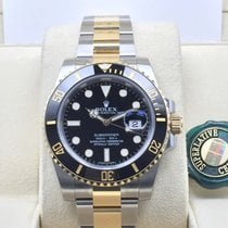 勞力士 (Rolex) Black Gold Steel Ceramic Submariner Date [NEW]