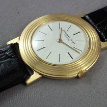 Audemars Piguet AP 2003 winding watch 18k yellow gold ultra sleek