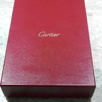 Cartier vintage red leather box for collier newoldstock