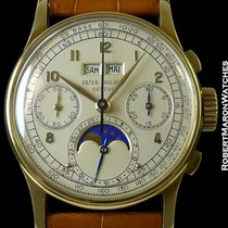 Patek Philippe 1518 Perpetual Calendar Chronograph 18k