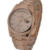 Rolex Unworn 118205chdo Rose Gold Mens Day - Date President -...