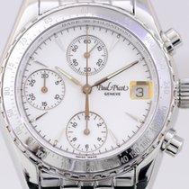 Paul Picot Minichron Chronograph Edelstahl white dial Unisex...
