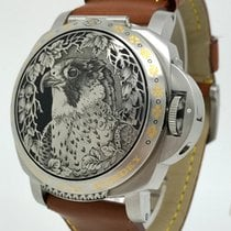 Panerai Luminor Sealand Purdey Hawk 2005 B&P Unworn Mens...