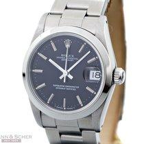 Rolex Datejust Medium Size Ref-68240 Stainless Steel Black...