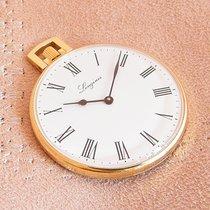 Longines 18K Gold Pocket watch Full Set
