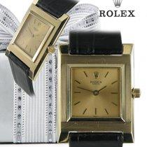 Rolex eckig Gold
