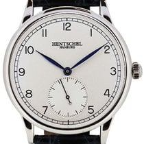 Hentschel Hamburg H1 Chronometer White Gold / Steel, 39.5mm