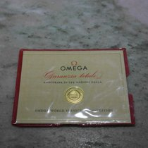 Omega vintage compiled warranty papers and plastic wallet
