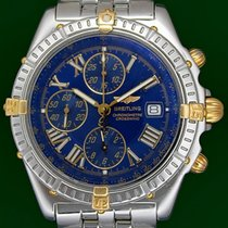 Breitling Windrider Crosswind 43mm Automatic Chronograph Gold...