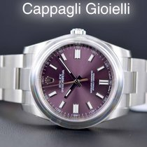 Rolex Oyster Perpetual 116000 Red Grape New / Nuovo