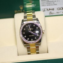 Rolex Datejust Diamant 36 mm Steel & Gold