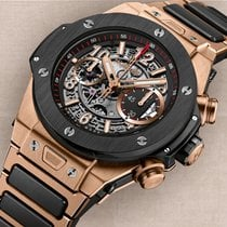 Hublot Big Bang Unico King Gold Ceramic Bracelet