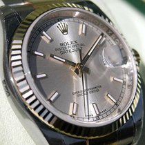 Rolex Datejust 116233 Mens Steel & Yellow Gold Oyster...