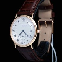 Frederique Constant Slime Line 18 CT Rose Gold Full Set UNWORN...