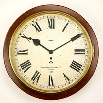 Smiths WW2 British Army Type II White Dial Bakelite Wall Clock
