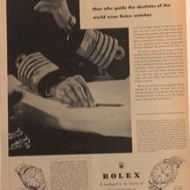 Rolex Vintage Rolex Advertising