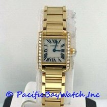 Cartier Tank Francaise Ladies WE1001R8 Pre-Owned