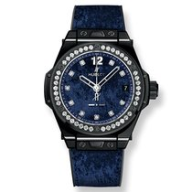 Hublot Big Bang One Click Italia Independent Dark Blue Velvet