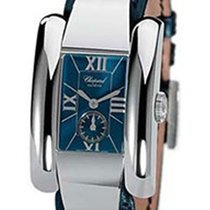 Chopard 41/8357 La Strada Ladies in Steel - on Black Leather...