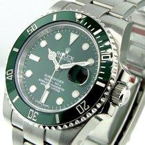 Rolex 116610lv Submariner Green Dial The Hulk Green Ceramic Bezel