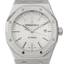 Audemars Piguet Royal Oak Stainless Steel White Dial 15400ST.O...
