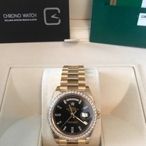 Rolex Day-Date 40 Diamond Bezel