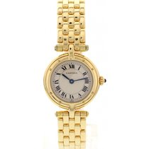 Cartier Cougar 18K Yellow Gold Watch