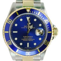 Rolex Submariner Date Two Tone 18kt Yellow Gold/SS - 11613