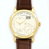 A. Lange & Söhne Yellow Gold Lange 1 Watch Ref. 101.021