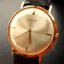 Longines Ultra Thin Rose Gold 18C 750 Vintage Men's Watch...