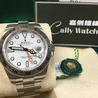 勞力士 (Rolex) Cally - 216570 EXPLORER II White Dial 40mm 大白橙[NEW]