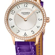 Hermès Slim d'Hermes PM Quartz 25mm 041755ww00